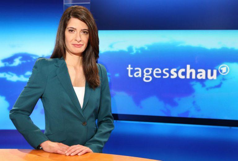 """Tagesschau""-Moderatorin Linda Zervakis"