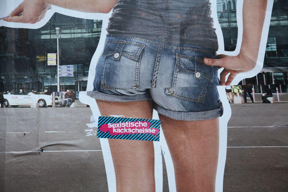 Angeblich sexistisches Werbeplakat