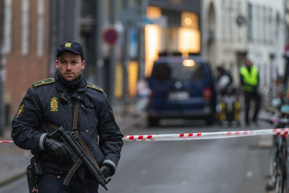 Polizist in Kopenhagen