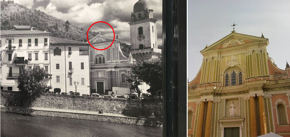 Kirche Dolceaqua in Camporosso