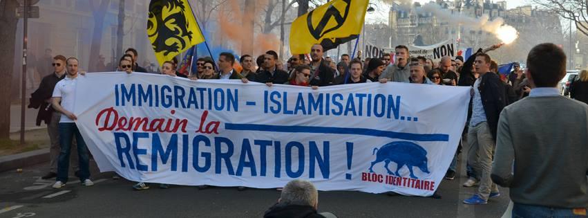 Identitäre Bewegung Frankreich