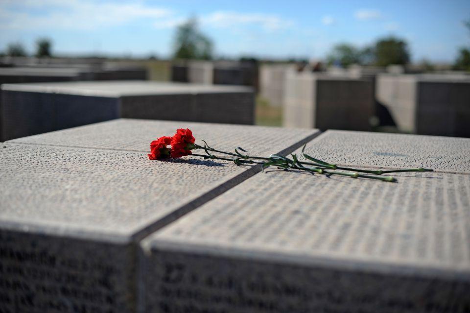 Deutscher Soldatenfriedhof in Rossoschka