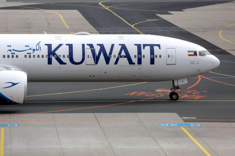 Flugzeug der Kuwait Airways