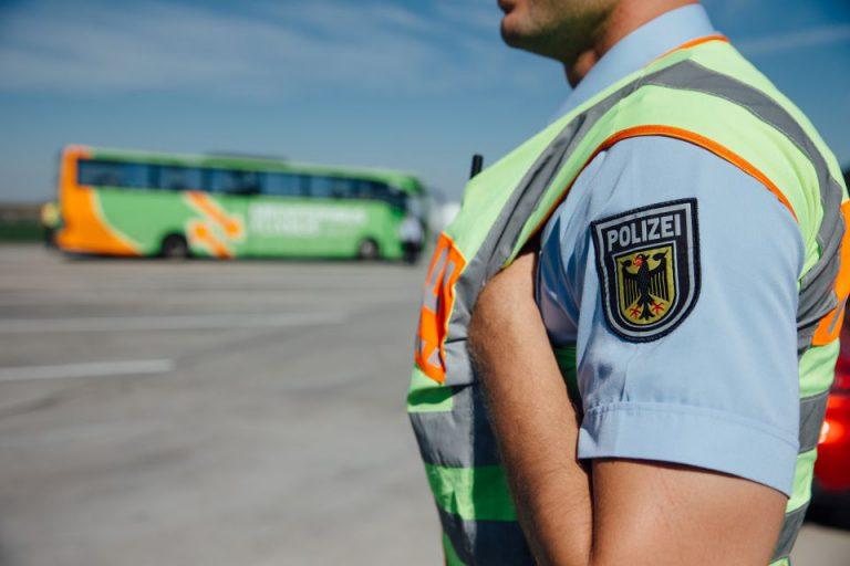 Bundespolizei an der deutsch-tschechischen Grenze