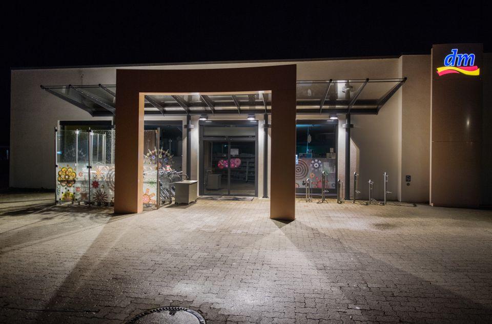 Der Tatort: Drogeriemarkt in Kandel