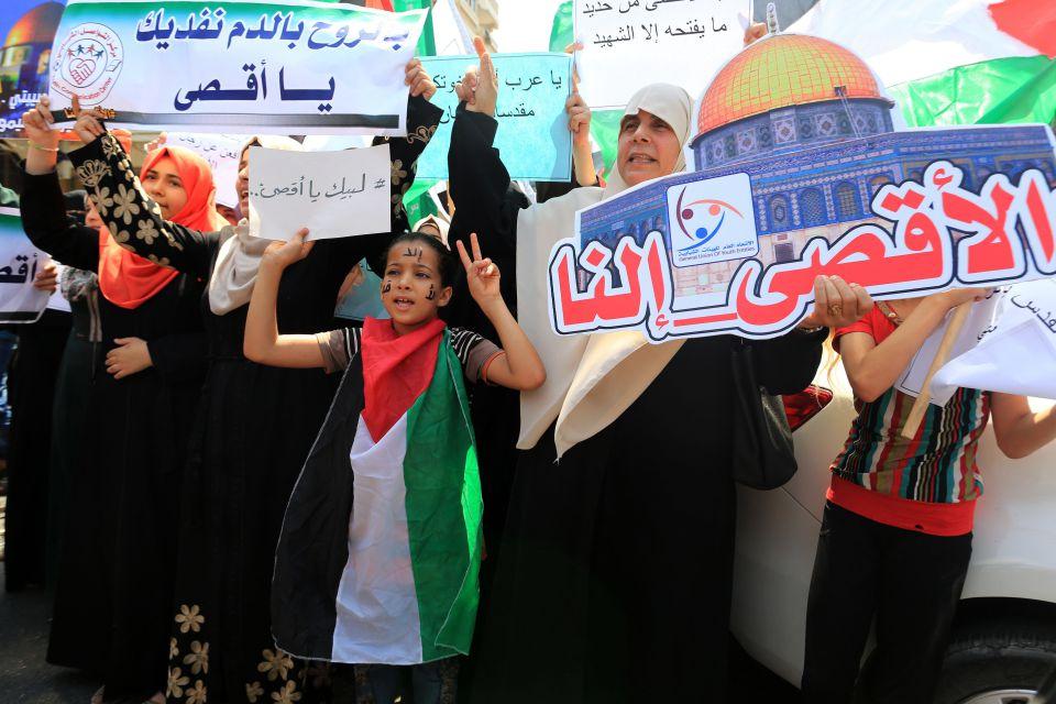 Palästinenserproteste