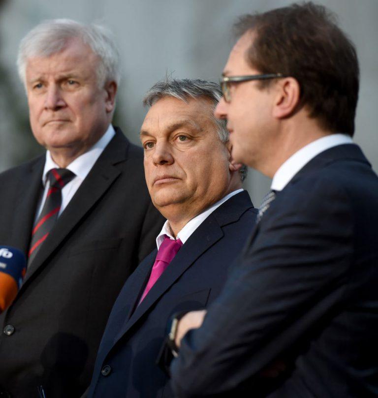 Viktor Orbán bei der CSU-Winterklausur