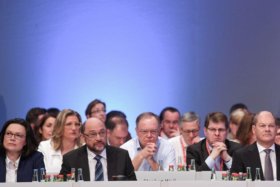 Bundesparteitag in Bonn