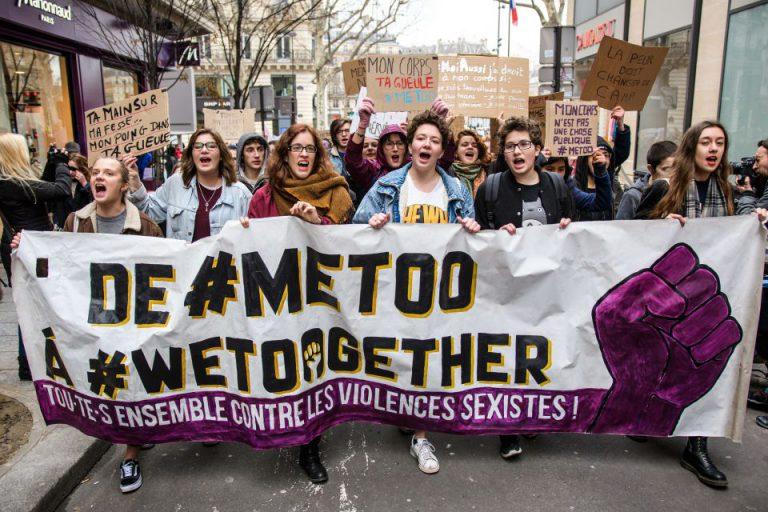 Demo gegen Sexismus in Paris