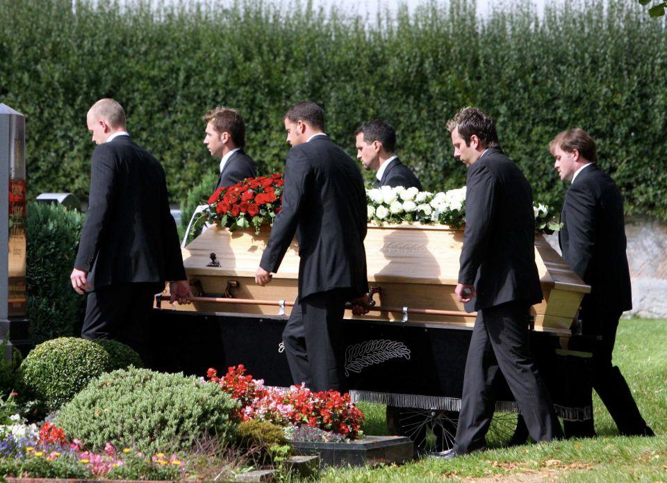 Beisetzung in Mittelfranken