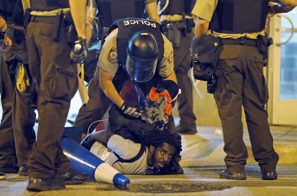 Police violence in St. Louis