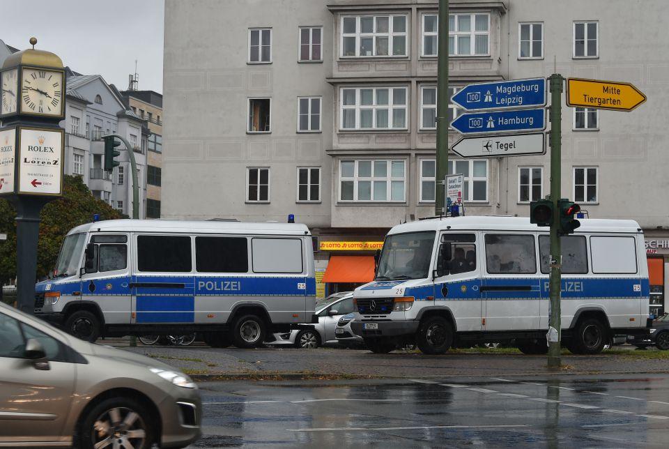Polizeiwägen