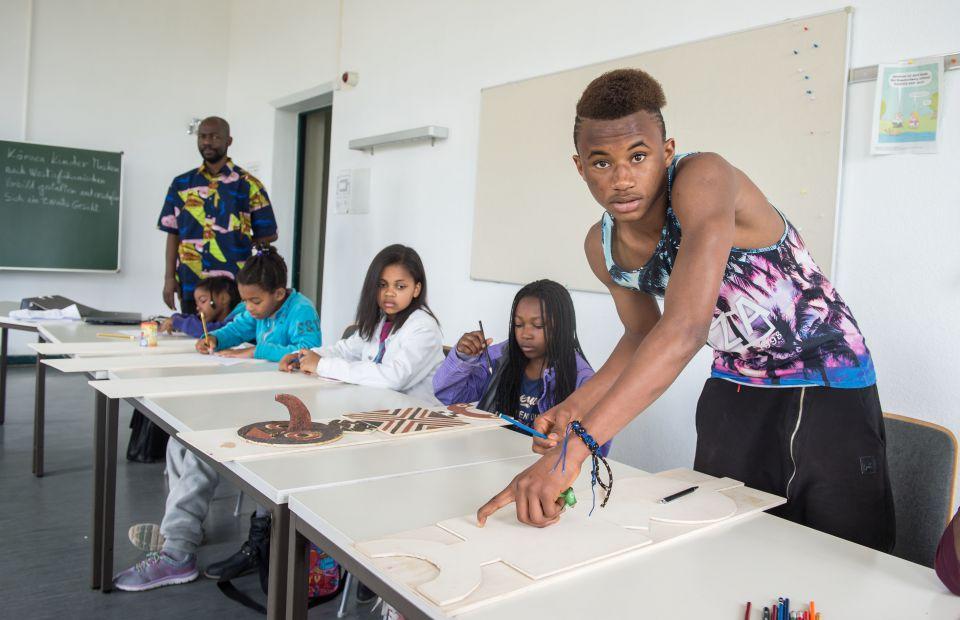 Schule für afrodeutsche Kinder