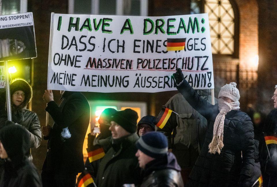 Anti-Merkel-Demo