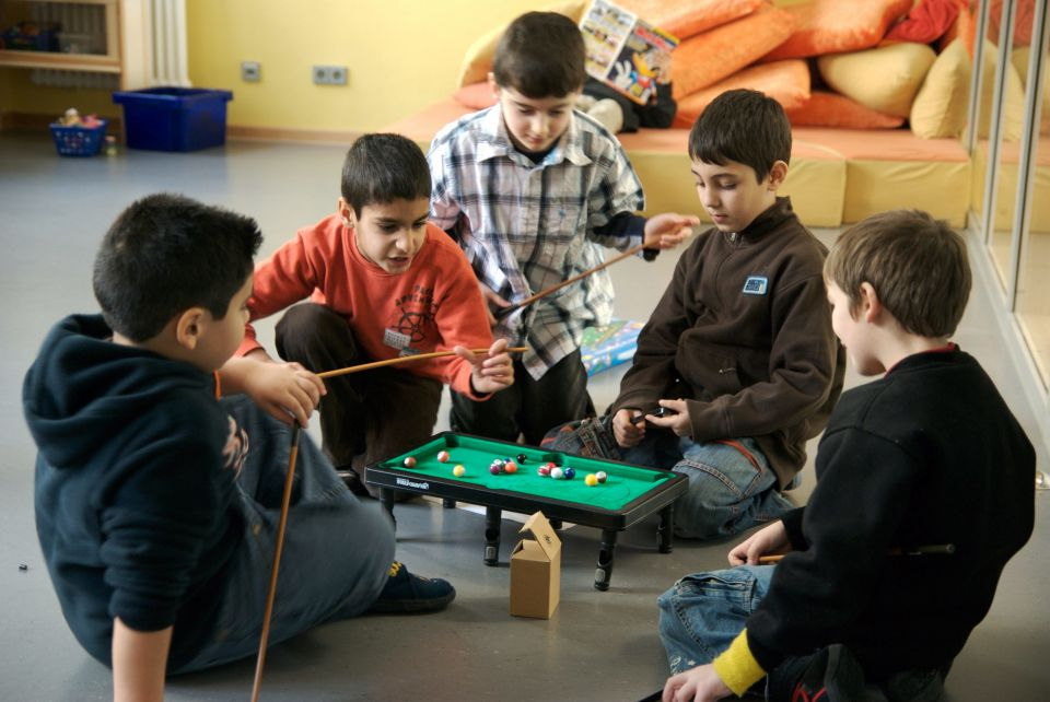 Grundschüler mit Einwanderungshintergrund
