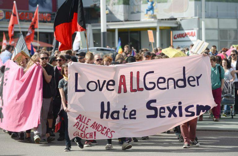 Demo gegen Sexismus