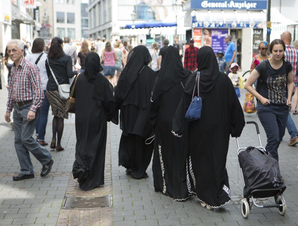 Burkaträgerinnen