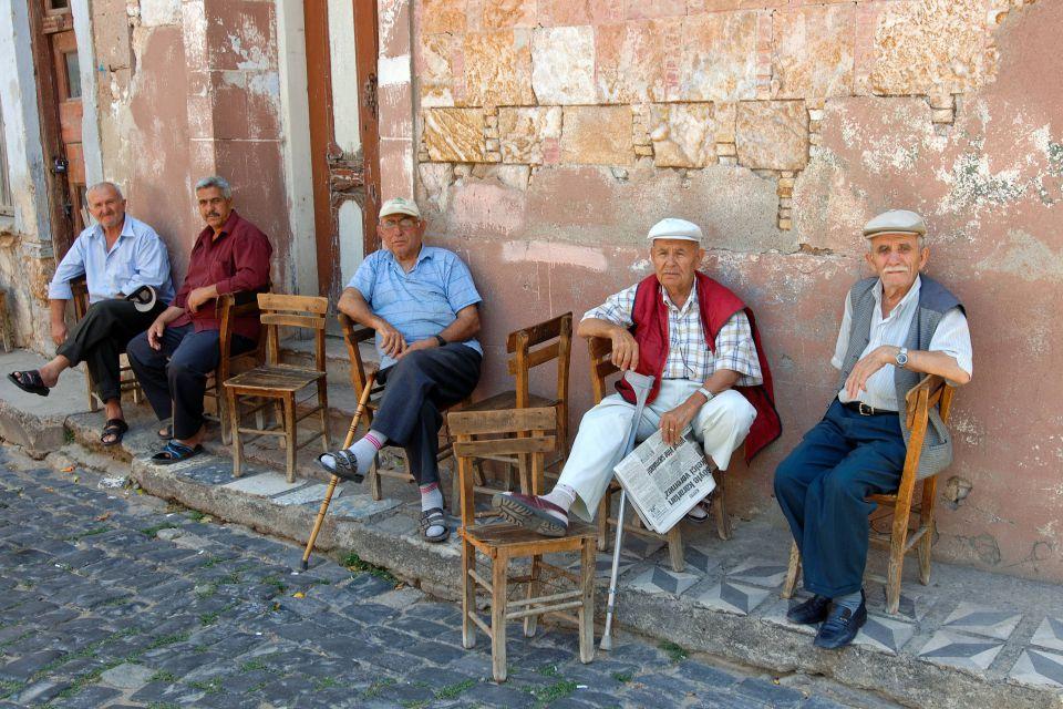 Rentner in der Tuerkei