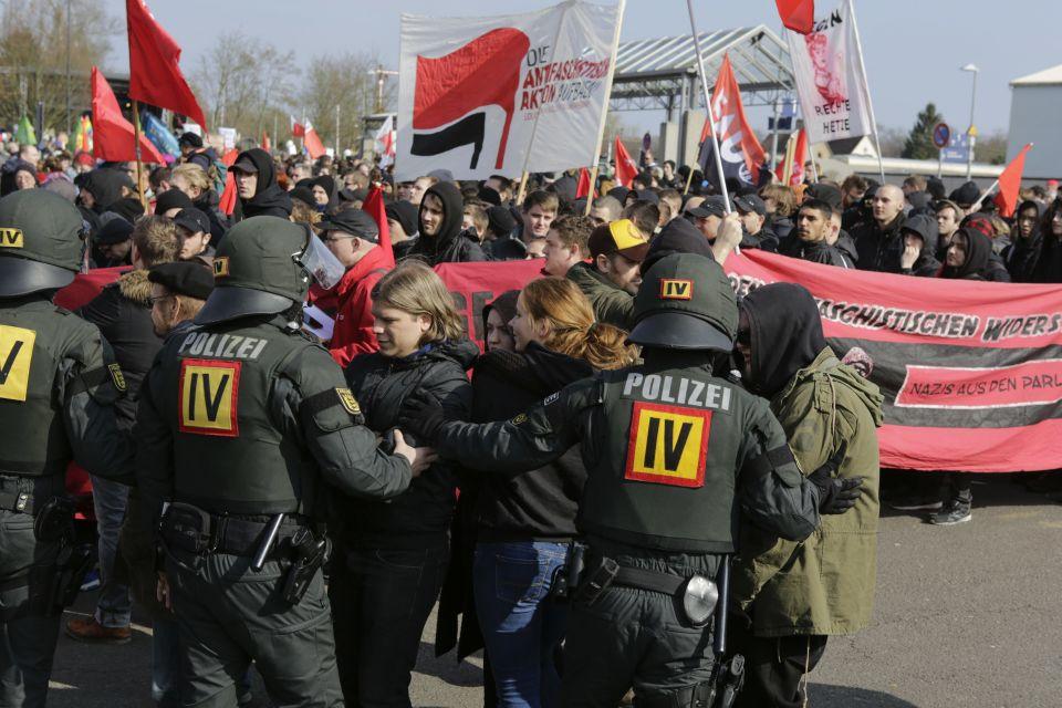 Demonstration in Kandel