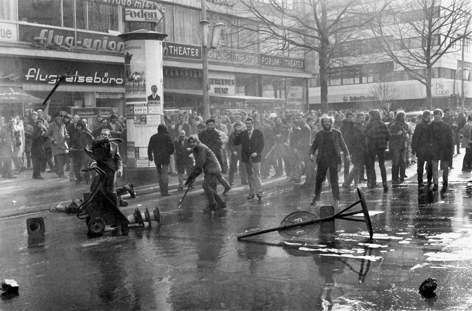 Demonstranten 1968