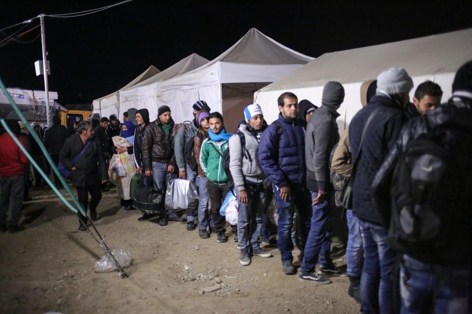 Asylbewerber in Griechenland