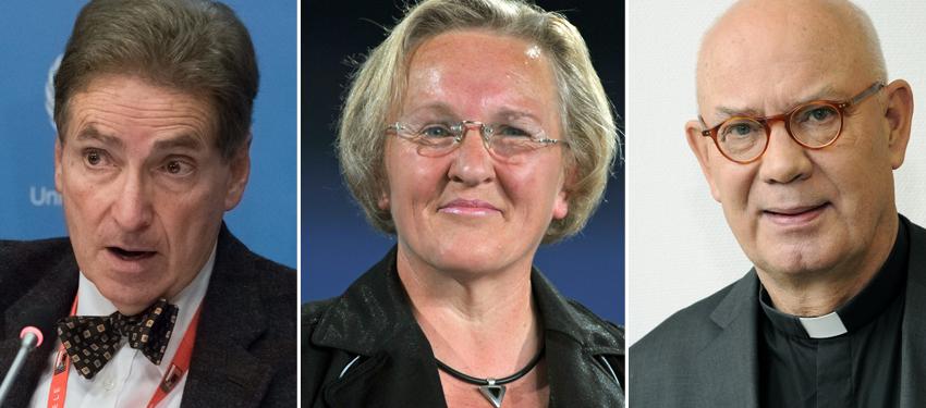 Alfred-Maurice de Zayas, Angelika Barbe und Wolfgang Ockenfels