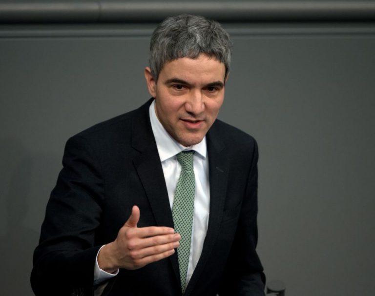 Innenpolitiker Harbarth im Bundestag