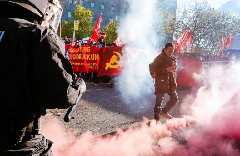 1.-Mai-Kundgebung in Hamburg