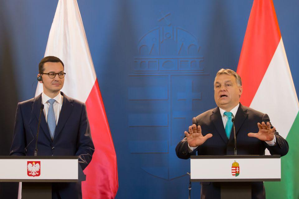 Viktor Orbán und Mateusz Morawiecki