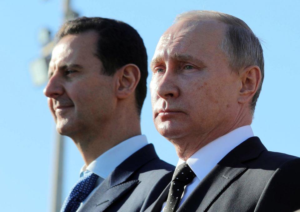 Baschar al-Assad und Wladimir Putin