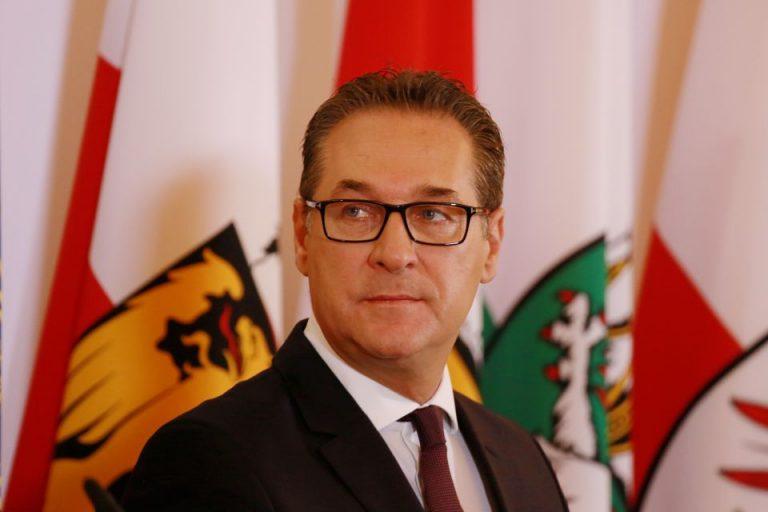Österreichs Vizekanzler H.-C. Strache (FPÖ)