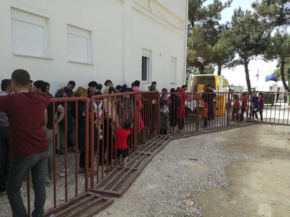 Einwanderer in Griechenland