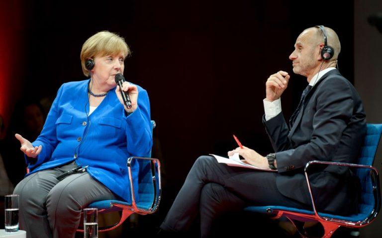 Bundeskanzlerin bei der Global Solutions Konferenz