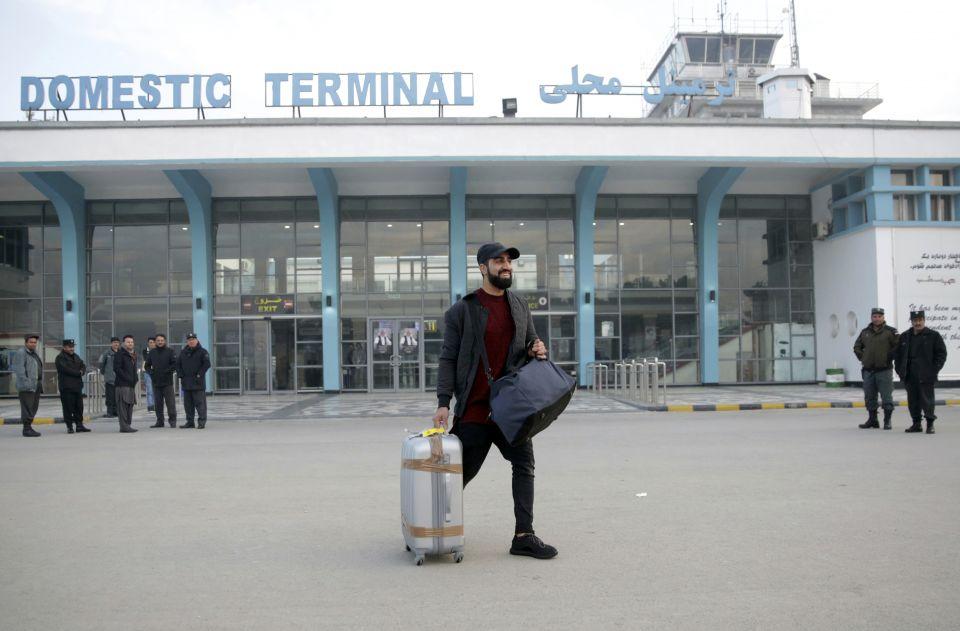 Flughafen Kabul