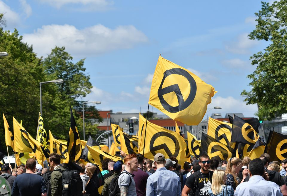 Identitären-Demonstration