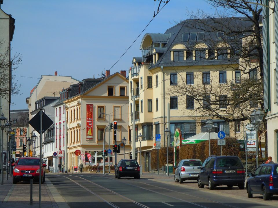 Innenstadt von Plauen