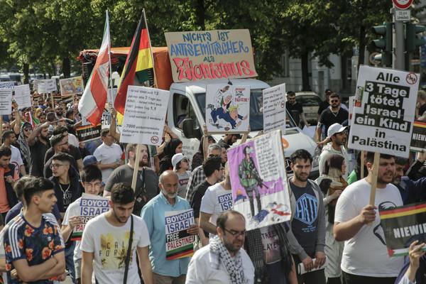Demonstration anlässlich des jährlichen al-Quds-Tages