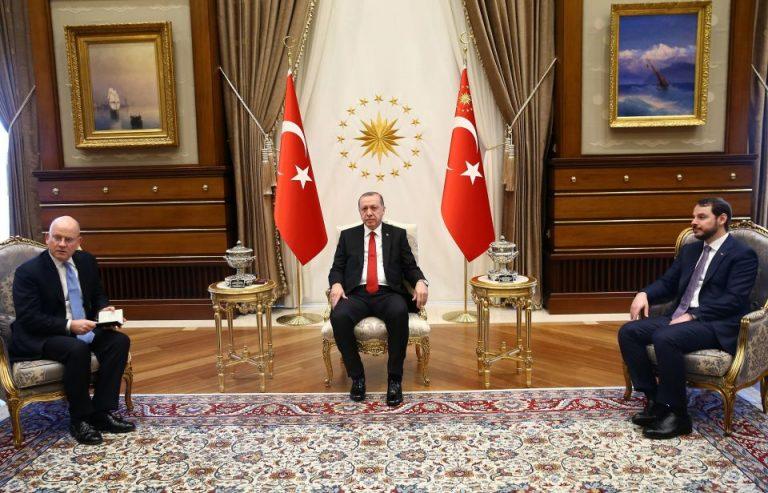 Präsident und Finanzminister