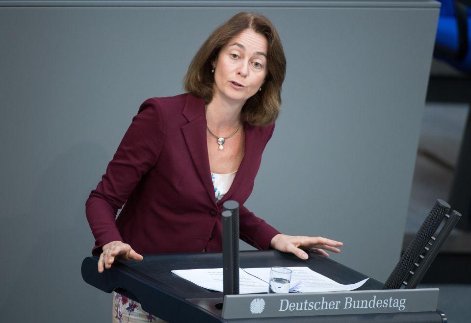 Justizministerin Katharina Barley (SPD)