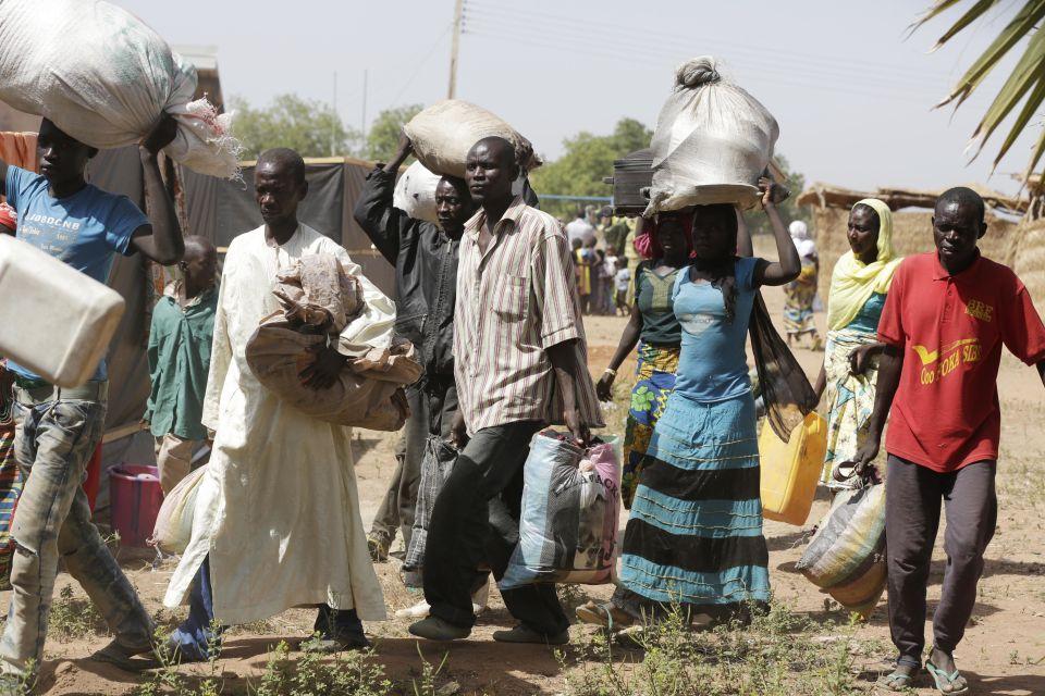Flüchtlingscamp in Nigeria