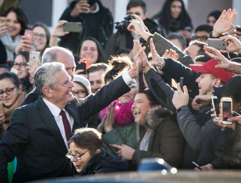 Ex-Bundespräsident Gauck in Offenbach
