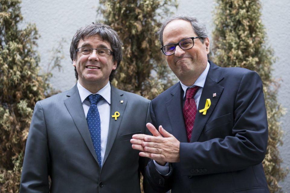 Puigdemont: Torra