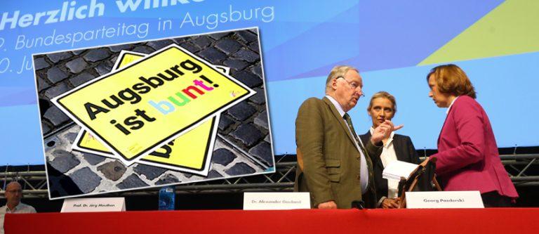 AfD-Parteitag in Augsburg