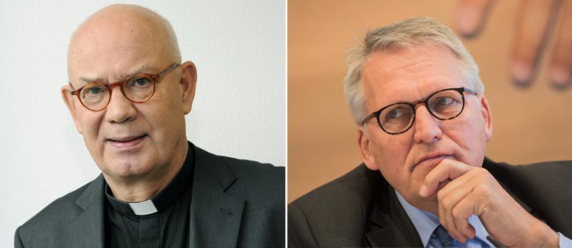 Wolfgang Ockenfels (l.) und  Thomas Sternberg