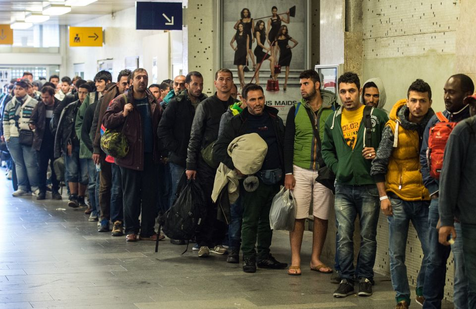 Flüchtlinge in Schönefeld