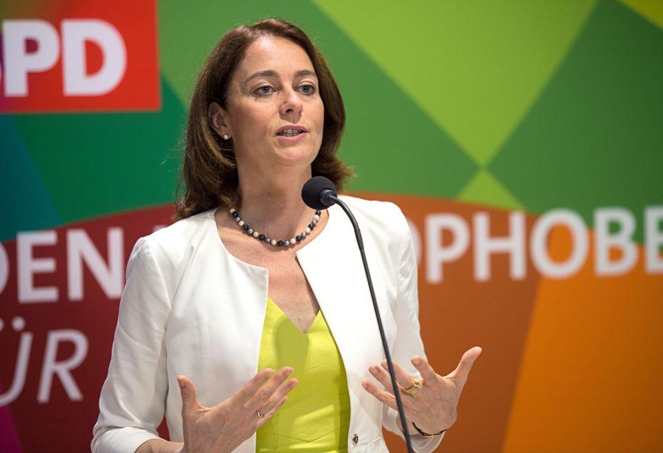 Justizministerin Katharina Barley