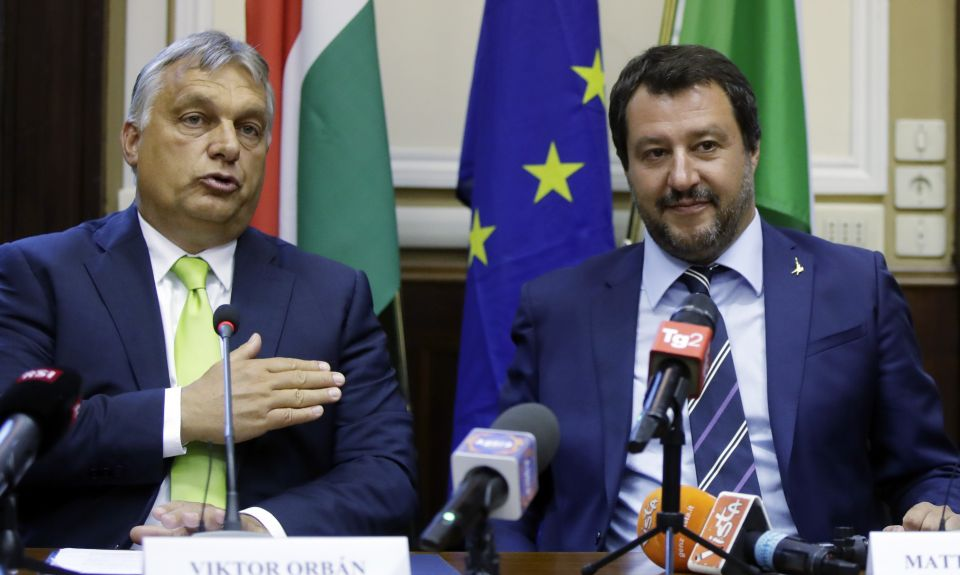 Orban:Salvini
