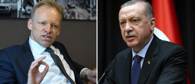 Clemens Fuest und Recep Tayyip Erdogan