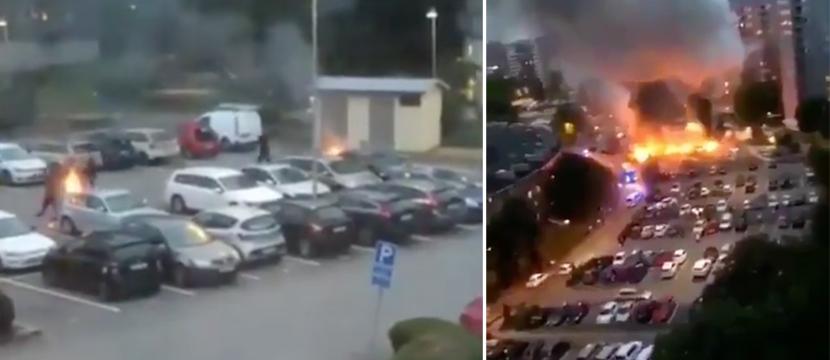 Brandanschläge auf Autos