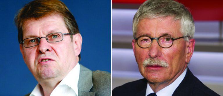 Ralf Stegner (l.) und Thilo Sarrazin